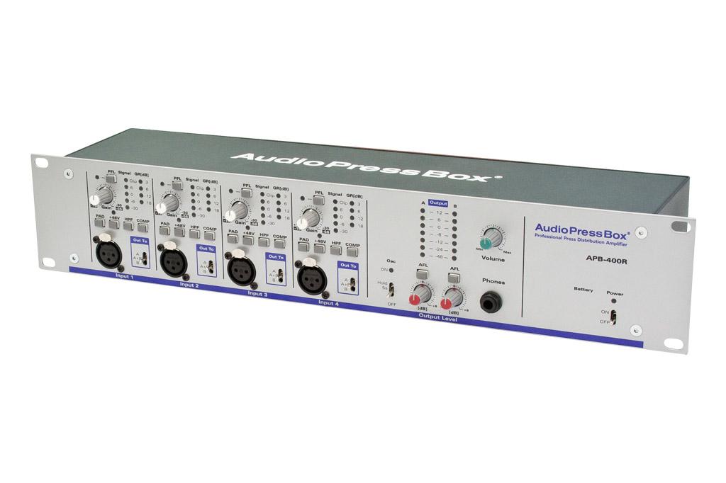 AudioPressBox APB 400R