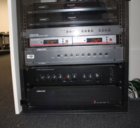 Rack ormar i audio-video oprema