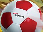 Akcija projektora za nogometno prvenstvo