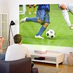 Svjetsko prvenstvo u dnevnom boravku - uz projektor & platno!