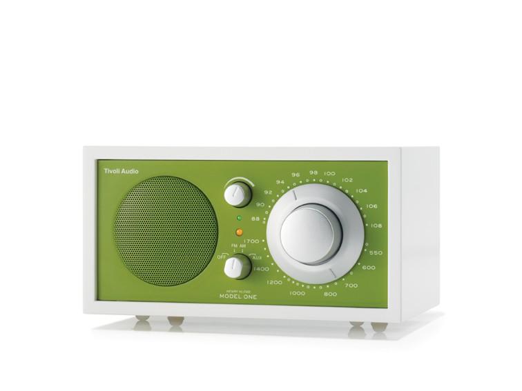 Radio Tivoli Audio MODEL ONE Frost White - Green