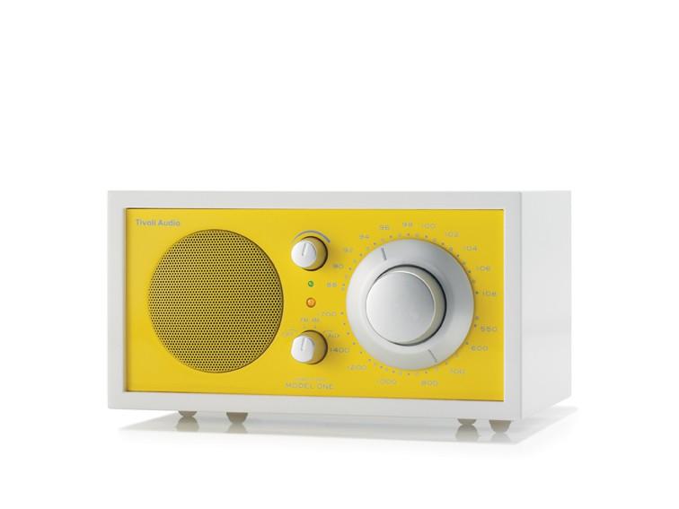 Radio Tivoli Audio MODEL ONE Frost White - Yellow